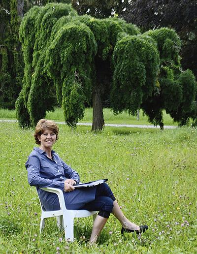 Monika Böhm, mb Grünmanagement, Expertin im Grünflächenmangement